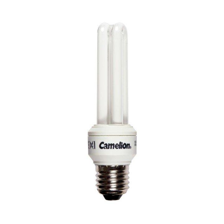 Ampoule 11W E27 2U (2700k)  Fluocompacte Camelion