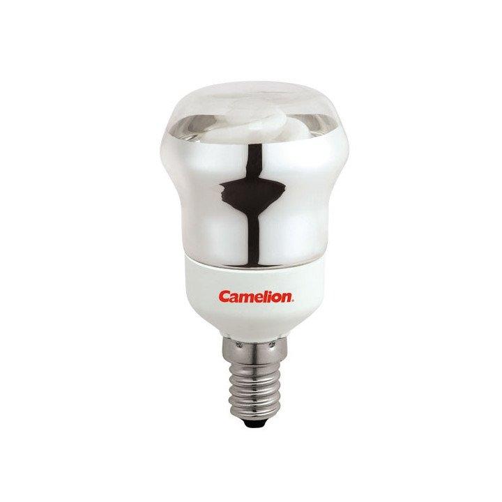 Ampoule réflecteur 7W E14 (2700k) Fluocompacte Camelion