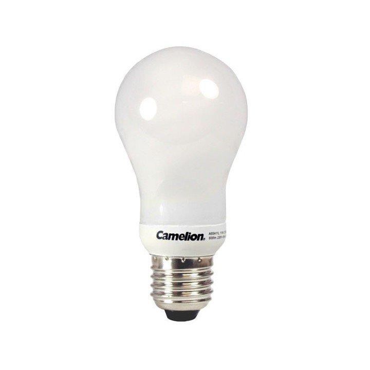 Ampoule globe 11W E27 (2700k) Fluocompacte Camelion