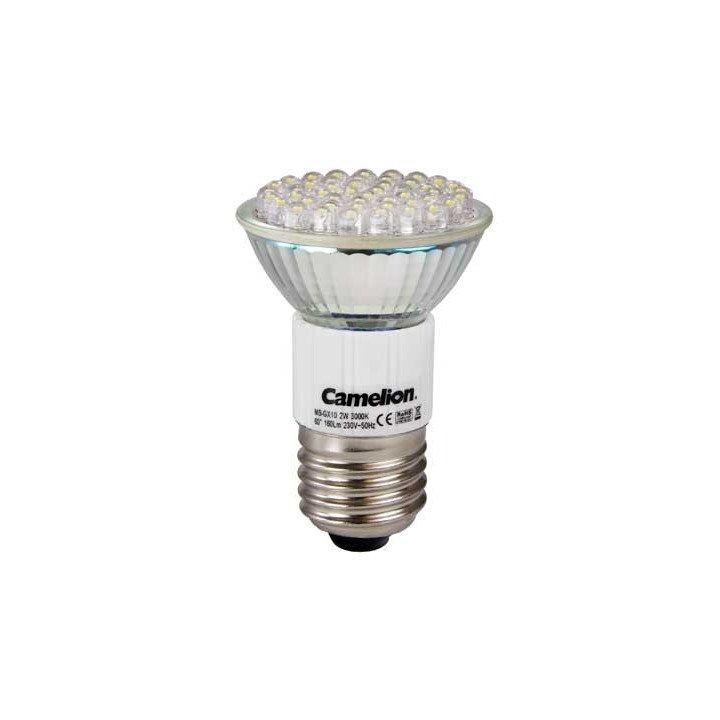 Ampoule 2W E27 (6000K) 48 LED Spot Camelion