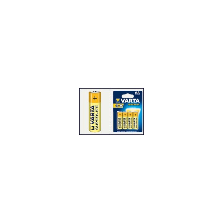 48 piles (12 blisters) Varta Superlife R06 AA (LR06)