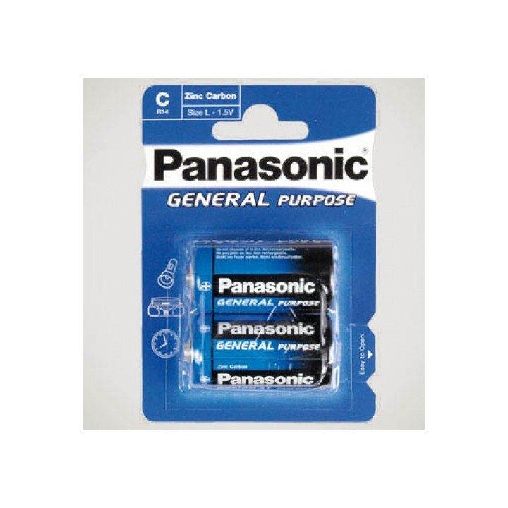 12 piles (6 blisters) Panasonic R14 C (LR14)