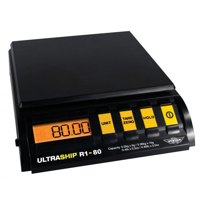 Balance 36Kg à 5g Ultraship-R1-80 My Weigh