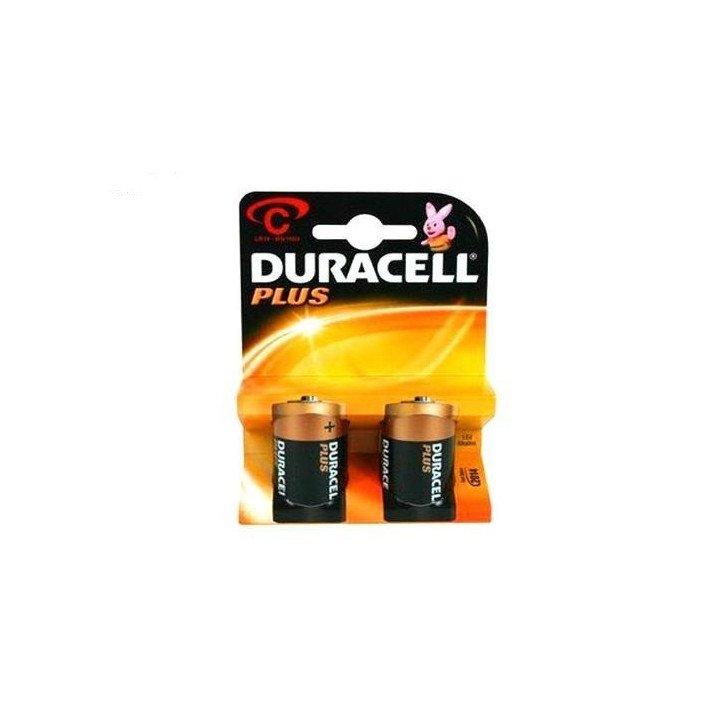 10 piles LR14 C (5 blisters) Duracell Plus R14 C