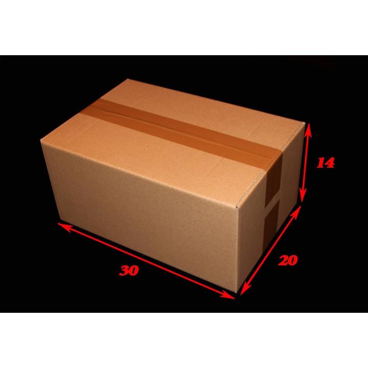 25 carton caisses américaines Format A4 30x20x14cm (Fefco 201)
