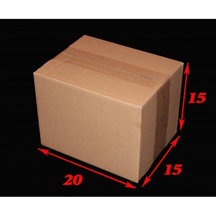 20 carton caisses américaines Format n°2 20x15x15 cm (Fefco 201)