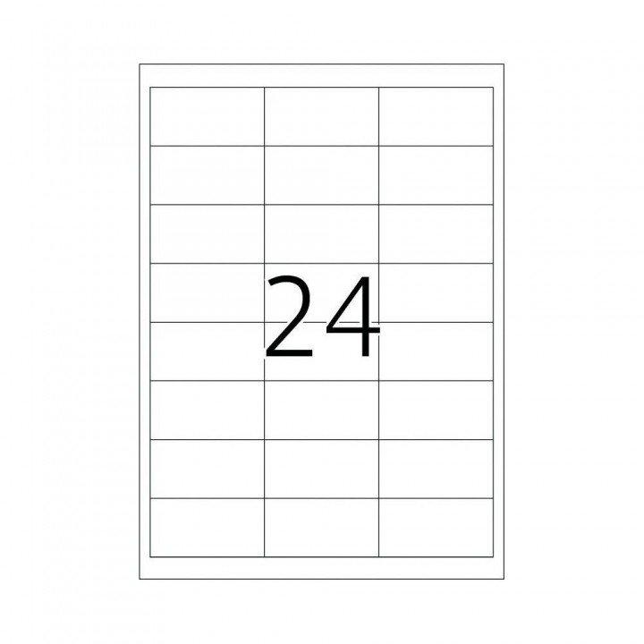 2400 étiquettes multi usages / 100 pages de 24 étiquettes