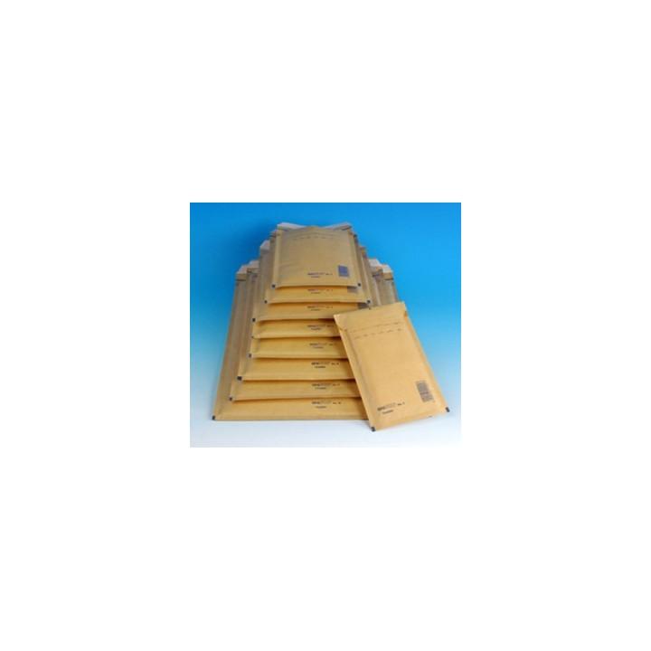 50 ENVELOPPES A BULLES T10 (370*480) BRUNES