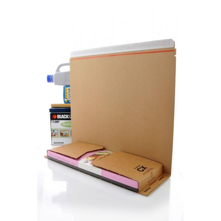Lot de 50 étuis postaux carton pour livre.. CX 425*150*(0-100)mm (étui postal livre)